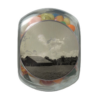 Lookout Mountain Scenic Loop Jelly Belly Candy Jar