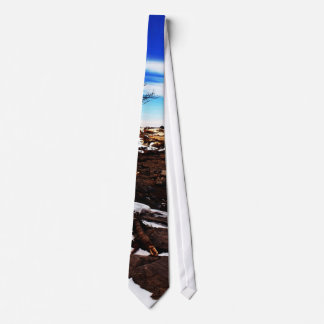 Lookout Point Maine Tie