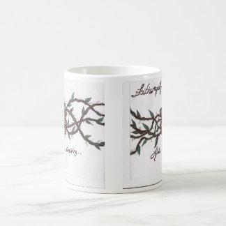 Looks can be deceiving. coffee mug