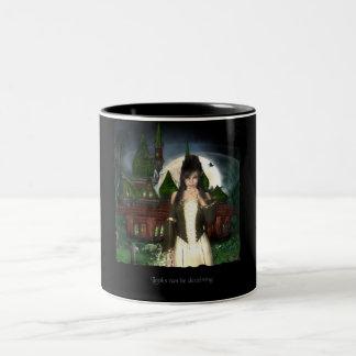 Looks can be deceiving Two-Tone coffee mug