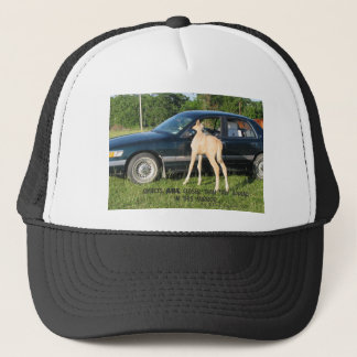 Looks Closer in Mirror Horse Trucker Hat