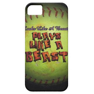 Looks like a beauty. Plays like a beast fastpitch iPhone 5 Case
