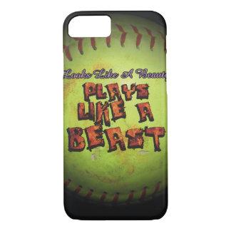Looks like a beauty. Plays like a beast fastpitch iPhone 8/7 Case