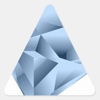 Looks like a gem triangle sticker