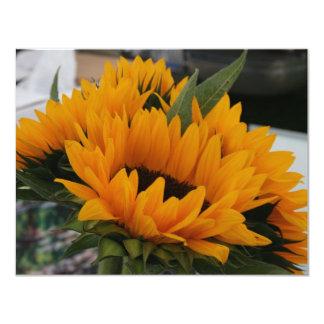 Looks Like a Sunflower 4.25x5.5 Paper Invitation Card