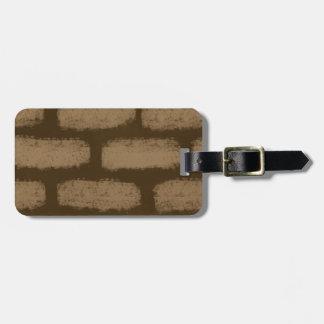 Looks like bricks bag tag