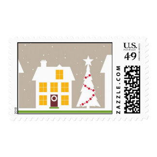 Looks Like Christmas Postage Stamp