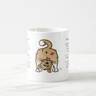 """"""" Looks Like Fido's A** """" (definition) Classic White Coffee Mug"""