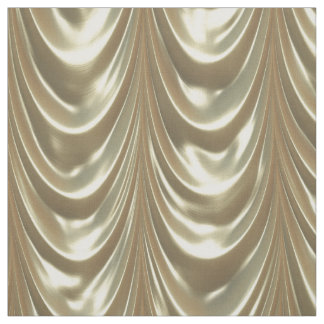 Looks Like Luxurious Metallic Gold Ruched Satin Fabric