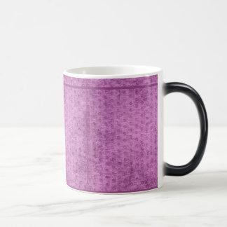 Looks Like Radiant Orchid  Chenille Fabric Texture Magic Mug
