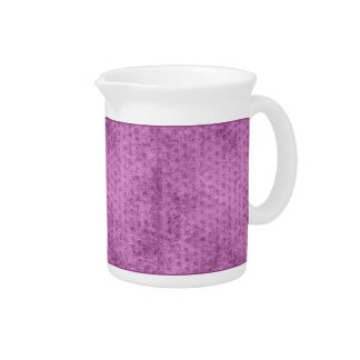 Looks Like Radiant Orchid  Chenille Fabric Texture Pitcher