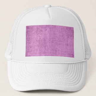 Looks Like Radiant Orchid  Chenille Fabric Texture Trucker Hat