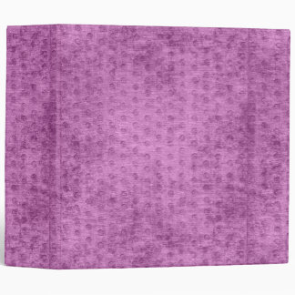Looks Like Radiant Orchid Nubby Chenille Fabric 3 Ring Binder
