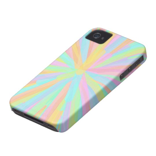 Looks Like Springtime - Colorful Abstract iPhone 4 Cover