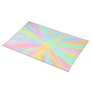 Looks Like Springtime - Colorful Abstract Place Mats