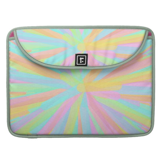 Looks Like Springtime - Colorful Abstract Sleeve For MacBook Pro