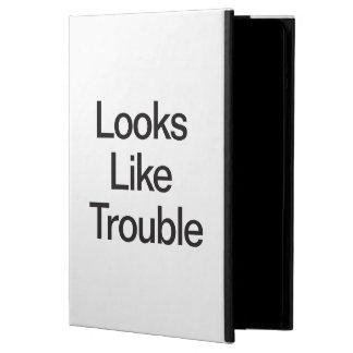 Looks Like Trouble iPad Air Cover