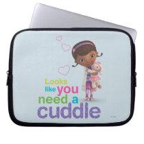 Looks Like You Need a Cuddle Computer Sleeve