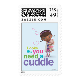 Looks Like You Need a Cuddle Postage Stamp