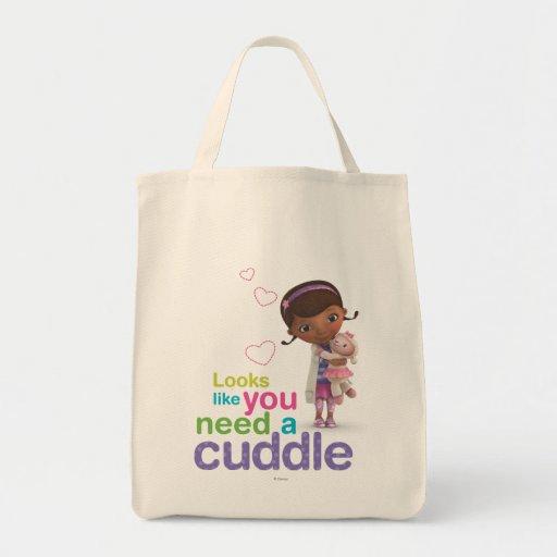 Looks Like You Need a Cuddle Tote Bag
