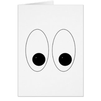 Looky There Eyes Card