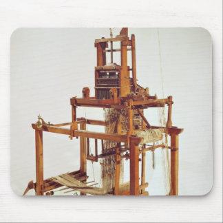 Loom designed by Joseph Marie Jacquard Mouse Pad