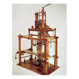 Loom designed by Joseph Marie Jacquard Postcard