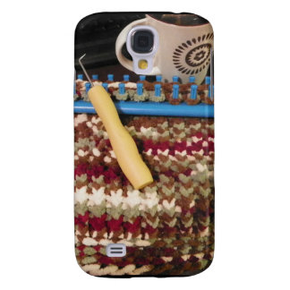 Loom knit and coffee samsung galaxy s4 cover