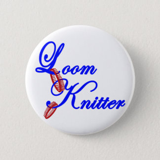 Loom Knitter Button