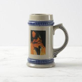 Looming Cello stein Coffee Mugs