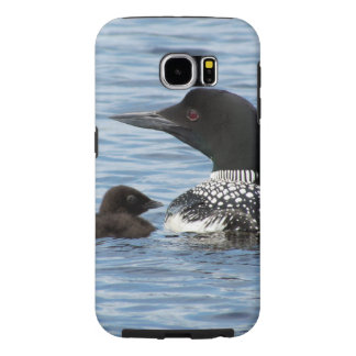 Loon and baby samsung galaxy s6 case