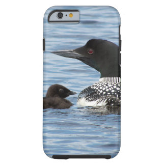 Loon and baby tough iPhone 6 case