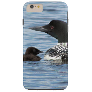Loon and baby tough iPhone 6 plus case
