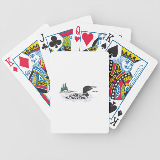Loon Bicycle Playing Cards