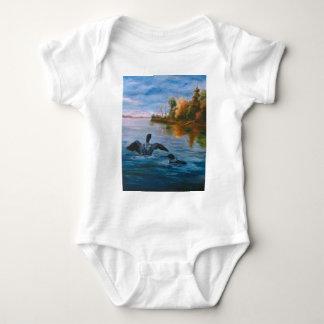 Loon Dance Baby Onsie T Shirt