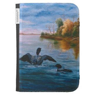 Loon Dance Folio Case For Kindle