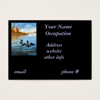 Loon Dance II Business Card
