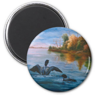 Loon Dance Magnet