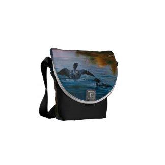 Loon Dance Mini Messenger Bag