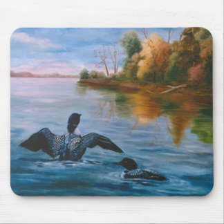 Loon Dance Mousepad
