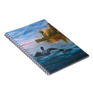 Loon Dance Notebook