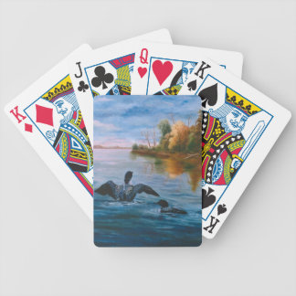 Loon Dance Playing Cards