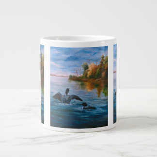 Loon Dance Extra Large Mug
