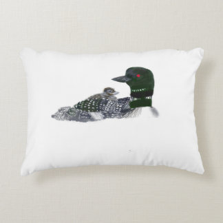 Loon Family Decorative Pillow
