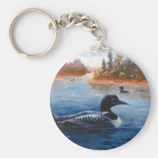 Loon Lake Keychain