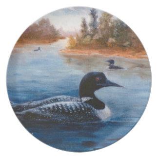 Loon Lake Plates