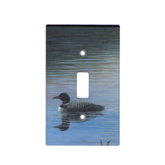 Loon Light Switch Cover