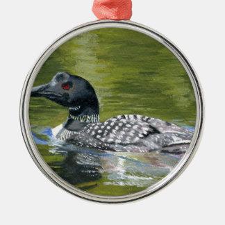 Loon Metal Ornament