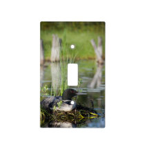 Loon on Nest Light Switch Cover