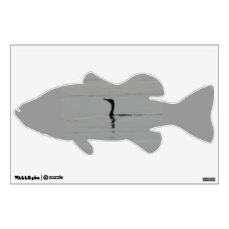 Loon on the Lake Bass Wall Decal